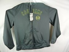 New NCAA Colorado State Rams CSU Full Zip Jacket With Hood XXL