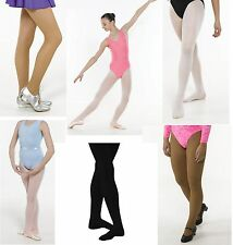 Ballet Dance Tights Tan White Pink Ivory Ladies/girls Communion Bridesmaid