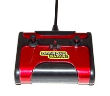 Remote-controlled Off-road Safari Truck Remote Only Radio 49 MHz Red and Black