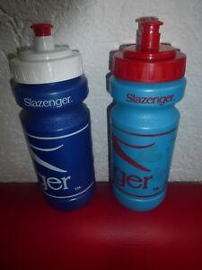 2 Slazenger Trinkflaschen Flasche Wasserflasche Sport 0.5L NEU