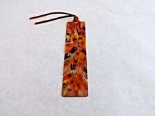 Bookmark for Books – Copper - Flame Painted – Unique Gift, #44