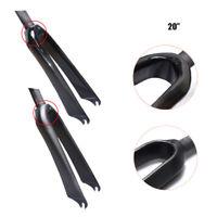 """EC90 Full Carbon Fiber Bicycle BMX C-Brake Fork 1-1/8""""Fork 20""""Racing Front Forks"""