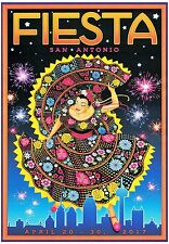 SAN ANTONIO FIESTA 2017 POSTER 24 X 36 Inches Looks beautiful
