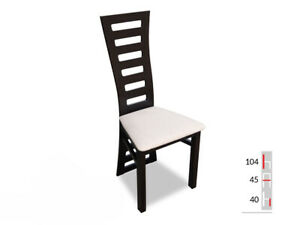 Solid Wood Chair Dining Designer Leather Room K72