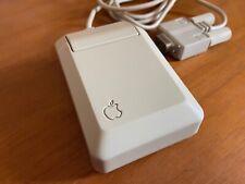 APPLE MACINTOSH MOUSE M0100 Plus 128k 512k Apple II with the large square plug