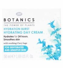 Boots Botanics Hydration Burst Hydrating Day Cream 50ml NEW