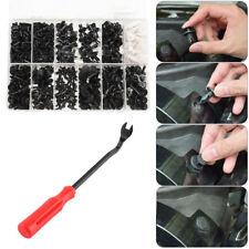 350Pcs Car Body Plastic Push Pin Screwdriver Rivet Fasteners Trim Moulding Clip