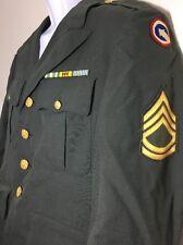 Vietnam Named US Army Uniform 8405-965-1615 38R Tropical AG-344 Patch SFC COSCOM