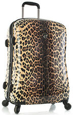 "Heys America Luggage Leopard Panthera 26"" Expandable Spinner 4 Wheel Suitcase"