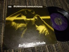 BURNING SENSATIONS BELLY OF THE WHALE/CARNIVAL OF SOUL 7'' 1983 PROMO SPAIN