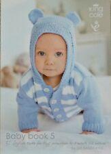 KNITTING PATTERN BOOK Baby Book 5 King Cole KNITTING PATTERN BOOK