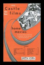 1956 - CASTLE FILM HOME MOVIE CATALOG - UNUSED - 8MM-16MM - TOMMY ARMOUR GOLF