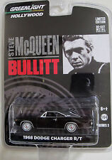 GREENLIGHT 2012 HOLLYWOOD SERIES 3 STEVE MCQUEEN BULLITT 1968 DODGE CHARGER R/T
