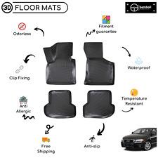 Custom Molded Rubber Floor Mat for Audi A3 2003-2012 (Beige)