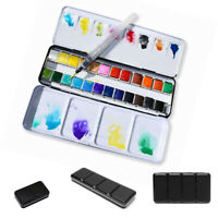 Empty Metal case Watercolor Box Palettes 1 Piece Portable Fashion Brand New Hot