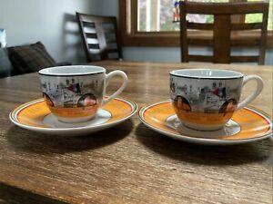 Ritzenhoff Breker r/&b Flirt Sanssouci Souci Soup Plates Coffee Cup Plate