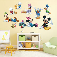 Micky Maus Wandtattoo Wandsticker XXL Riesig Mickey Mouse Kinderzimmer Minnie