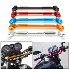 "7/8"" 22 MM MANUBRIO BRACE & BARRA MORSETTO ENDURO DIRT PIT BIKE ATV QUAD MOTO"