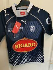 superbe  maillot de rugby AGEN france  SUA Dubroca Puma 10 ans