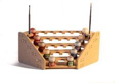 Mesa rack Soporte de 25 pinturas modelismo Games Workshop esquina 90º  Warhammer