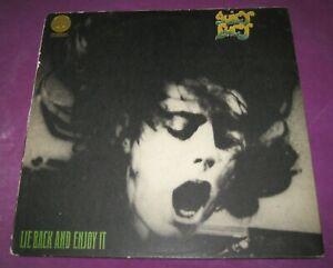 JUICY LUCY - LIE BACK & ENJOY IT - VERTIGO UK 1970 SWIRL ORIGINAL - 2ND GREAT LP