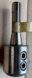 R8 Taper Shank 1-1/4 Inch Hole End Mill Holder Adapter & R8 1 Inch Holder