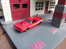 HOT WHEELS '71 HEMI PLYMOUTH BARRACUDA - RED - APPROX.1:64 DIECAST