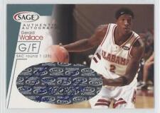 2001 Sage Platinum /20 Gerald Wallace #A33 Rookie Auto