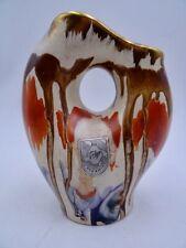 Fohr 305 Krug Vase Keramikvase 50er 60er midcentury modern WGP seltene Glasur