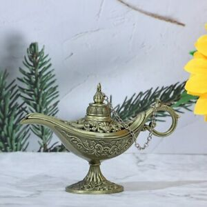 Antique Style Retro vintage and gothic Gift Tin Alloy Incense Burner Multi Color