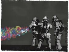 MR CLEVER ART APOCALYPSE STREET CLEANERS graffiti street urban art deco black