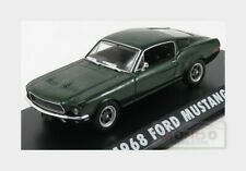 Ford Mustang Gt Fastback With Steve Mcqueen Figure Bullit 1968 1:43 GREEN86433