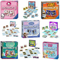 Official Disney & Kids TV Character Memory Game Puzzle Brand New Gift