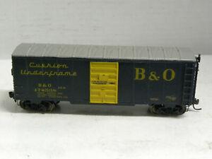 Accucraft-HO- B & O Box Car   w/Kadee Cplrs steel whls
