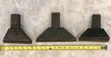 MATCHED SET 3 VINTAGE PLANISHING STAKES, HARDY, TINSMITH, BLACKSMITH, ANVIL