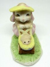 Mama Bunny Rabbit with Baby in Buggy Adorable! Willitts Bone China Very Cute
