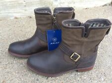 Ariat Savannah H20 Boots Chocolate/willow Leather Size 7.5 B Women's