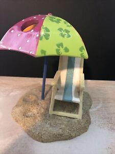 Beach Umbrella toothbrush holder
