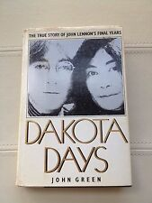 DAKOTA DAYS The True Story of John Lennon's Final Years (1983) 1st Ed Hardcover