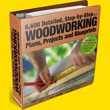 Carpentry Plans: 7,610 Wood Work Projects, Plans, Woodwork Blueprints & Ideas