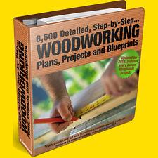 Carpentry Plans: 7,610 Wood Work Projects, Plans, Woodwork Blueprints & Ideas
