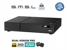 SMSL d1 2x 9038-pro sabre DSD Dac Digital Analogique Conv USB Car Convertisseur haut de gamme TOP