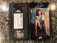 Flashdance VHS! 1983 Drama Romance. See) Grease & Footloose
