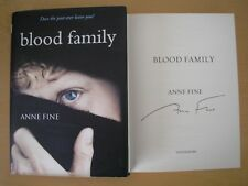 ANNE FINE - BLOOD FAMILY  1st/1st  HB/DJ  2013  SIGNED