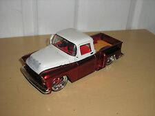 Diecast 1/24 JADA 1955 Chevy Lowrider Step Side Truck for parts or restore