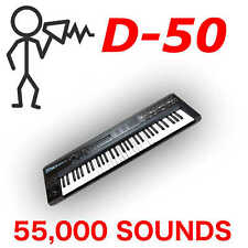 57,500+ Roland D-50 D-550 VC-1 D-05 Sound Library - Programs Patches - D0wnload