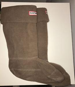 HUNTER Welly Warmers Fleece Socks - Size M - UK 3/5 - Designer - Great Condition