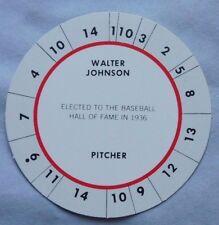 Vintage WALTER JOHNSON WASHINGTON CADACO DISC