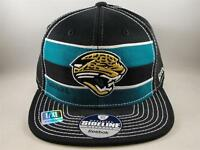 Jacksonville Jaguars NFL Reebok Flex Cap Hat Size L/XL Black Teal