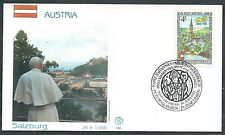 1988 VATICANO VIAGGI DEL PAPA AUSTRIA SALZBURG - SV2